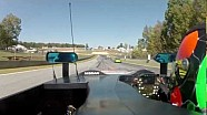 Nissan DeltaWing massive crash at Road Atlanta