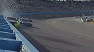 Kevin Harvick slams the wall in Phoenix!
