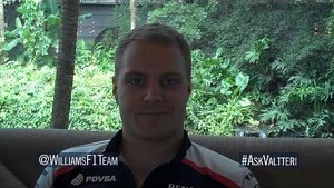 Valtteri Bottas previews the Malaysian GP by answering Twitter questions @WilliamsF1Team