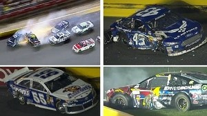 Big Wreck at Charlotte!