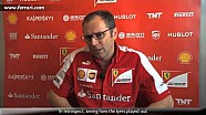 Canadian Grand Prix - Stefano Domenicali, about race