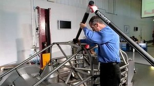 NASCAR Automotive Technology Series: Chassis inspection