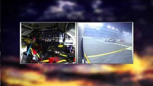 NASCAR in-car camera | Clint Bowyer Spins Out During Final Laps