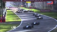 Italian GP - Monza - GP3 GP3 Start Chaos and Accidents
