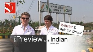 2013 Indian GP - Race Preview / Ask the Driver - Sauber F1 Team