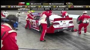 NASCAR Kevin Harvick runs out of gas | Phoenix international Raceway (2013)