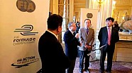 FIA Formula E Team China Racing presentation in Paris  27/02/2013