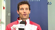 2014 24 Hours of Le Mans - Mark Webber Simulator Test