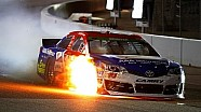 Bowyer and Whitt tire issues start fires | Richmond (2014)