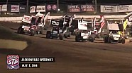 Highlights: World of Outlaws STP Sprint Cars Jacksonville Speedway May 7th, 2014