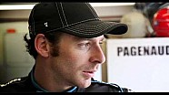 Simon Pagenaud & GF Hailey get ready for Rev
