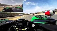 Scott Sharp Visor Cam at Mazda Raceway