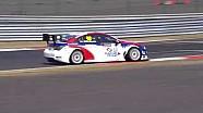 WTCC drivers sliding around Moscow Raceway