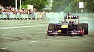 F1 Show Run Making An Almaty Noise In Kazakhstan
