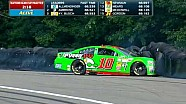 Danica Patrick crashes at Watkins Glen