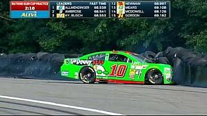Danica Patrick crashes at Watkins Glen