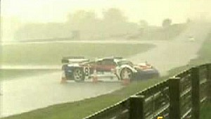 20 GT cars crash in the rain