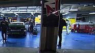 Keselowski, Hamlin make contact in garage