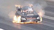 Jon Capps lights it up in Super Slo Mo | Auto Club NHRA Finals