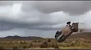 Dakar 2015 Stage 7 Campbell Crash