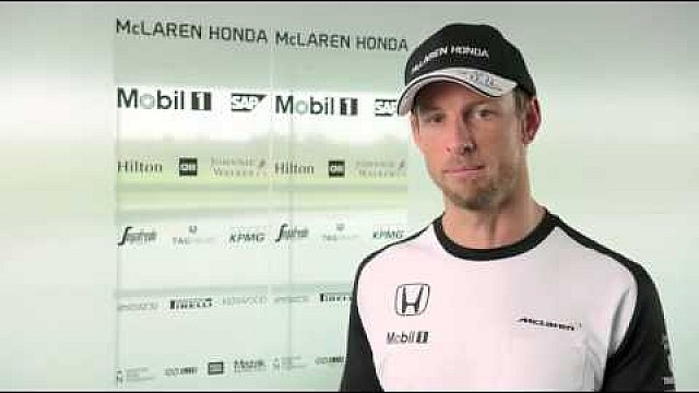 Interview with McLaren-Honda driver, Jenson Button