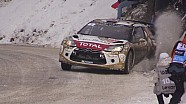 Rallye Monte Carlo 2015 lo  mejor de los accidentes y el espectáculo