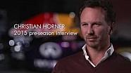 Christian Horner 2015 Pre-Season Interview (RB11)