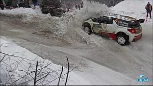 Rally de Suecia - Problema en la curva SS8
