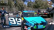V8 Supercar Dunlop Series, choque de James Golding