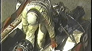 Dick Simon massive crash at Riverside in 1982