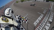 Harvick finally wins at Las Vegas