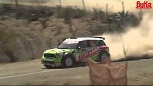 Eurolamp WRT Mini hits spectator car