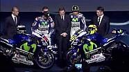 Présentation 2015 Movistar Yamaha à Madrid