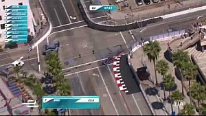Long Beach ePrix - helicopter lap with Sam Bird