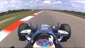 On Board : Scott Dixon au NOLA Motorsports Park