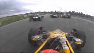 IndyCar - Gros crash entre Simon Pagenaud, Sébastien Bourdais et Ryan Hunter-Reay