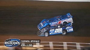 Aspectos destacados: World of Outlaws Late Model Series Tazewell Speedway 11 de abril 2015