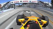#INDYCAR In-Car Theater: Ryan Hunter-Reay at the Toyota Grand Prix of Long Beach