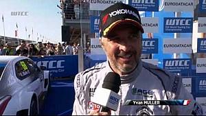 Yvan Muller gana la ronda 4