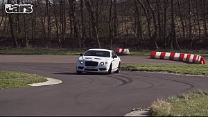 Sliding a 2195 kg Bentley GT3 R - Chris Harris on Cars