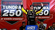Crafton becomes first two-time winner at Kansas