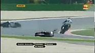 Moto2 - Misano - Caduta di Tomizawa
