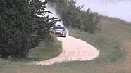 Crash Hirvonen test Asciano Toscana 2012.mov
