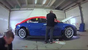 livery in 1 minute, WTCC car Tom Coronel, ROAL Motorsport by DeWild MPS