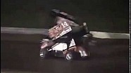 DISCRETION ADVISED - NASCAR driver Tony Stewart Hits Kevin Ward, Jr., in Sprint Car Race