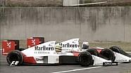 Senna y Prost  enfrentamiento Suzuka - 1989 Gran Premio de Japón