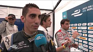 DHL Berlin ePrix - Sebastien Buemi post-race interview