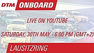 On Board LIVE - Martin Tomczyk - Lausitzring Course 1