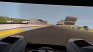 A lap of Le Mans in the TMG simulator with Sébastien Buemi