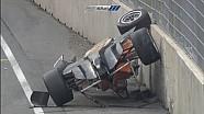 European Formula 3 2015. Norisring. Michele Beretta's flip